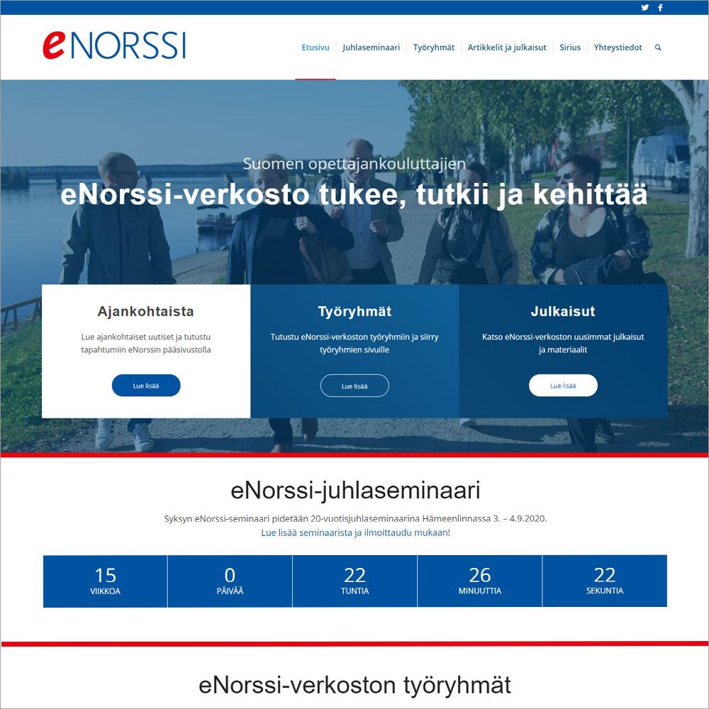 eNorssi-verkosto