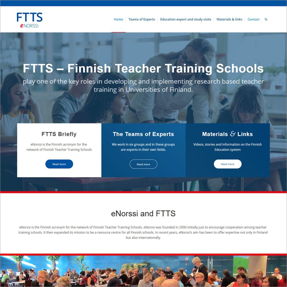 FTTS – Finnish Teacher Training Schools