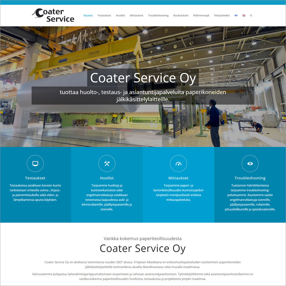 Coater Service